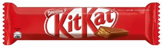 Батончик KitKat молочный шоколад с хрустящей вафлей, 40 г
