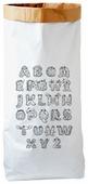 Мешок BRADEX Алфавит английский 90х50х13 см (PB 0001)