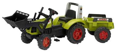 Веломобиль Falk Трактор-экскаватор с прицепом (1040M)