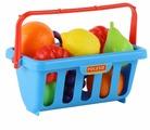 Корзина для покупок Полесье с продуктами (46963)