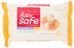 Хозяйственное мыло CJ Lion Baby Safe с экстрактом акации, 190 г 98%