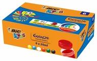 BIC Гуашь Kids 6 цветов х 20 мл (947714)