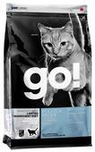 Корм для кошек GO! Sensitivity + Shine беззерновой, при чувствительном пищеварении, с минтаем
