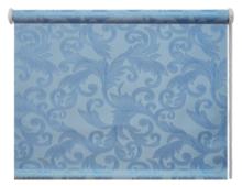 Рулонная штора DDA Престиж (голубой)