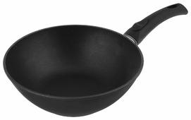 Сковорода-вок НЕВА МЕТАЛЛ ПОСУДА Титан 3130W 30 см