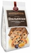 Печенье Хлебный Спас Мировая коллекция Итальянское с апельсиновым вкусом и изюмом, 230 г