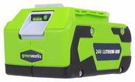Аккумуляторный блок greenworks G24B4 2902807 24 В 4 А·ч