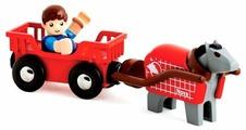 Игровой набор Brio Лошадка с тележкой и человечком 33794