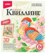 LORI Набор для квиллинга Райская птица КВЛ-024