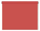 Рулонная штора DDA Универсальная однотонная (терракотовый)