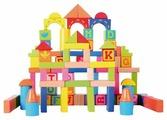 База игрушек Кубики 82 дет. 57043