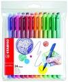 STABILO набор капиллярных ручек Pointmax 24 цвета, 0.8 мм (488/24-01)