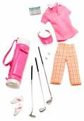 Barbie Комплект одежды и аксессуаров для куклы Барби Pink On The Green