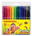 Каляка-Маляка Фломастеры 12 шт. (ФКМ12)