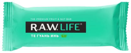 Фруктовый батончик R.A.W. Life без сахара Те Гуань Инь, 47 г