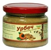 Vegan food Урбеч из ядер абрикосовых косточек