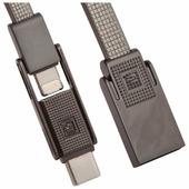 Кабель Remax Gplex USB - USB Type-C/Apple Lightning/microUSB (RC-070th) 1 м