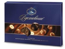 Набор конфет Вдохновение Шоколадное пралине с дробленым фундуком 215 г