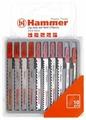 Набор пилок для лобзика Hammer JG WD-PL 204-904 10 шт.