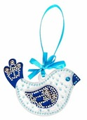 Feltrica Набор для изготовления Птичка синяя (4627104426794)