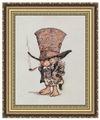 NeoCraft Набор для вышивания крестиком Джентльмен в шляпе 9 x 13 см (мн-02)