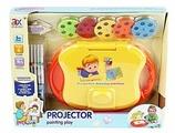 Доска для рисования детская Junfa toys с функцией проецирования (6632)