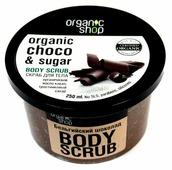 Organic Shop Скраб для тела Бельгийский шоколад