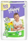 Bella Baby happy подгузники fun 4 (8-18 кг) 66 шт.