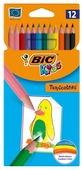 BIC Цветные карандаши Tropicolors 12 цветов (8325669)