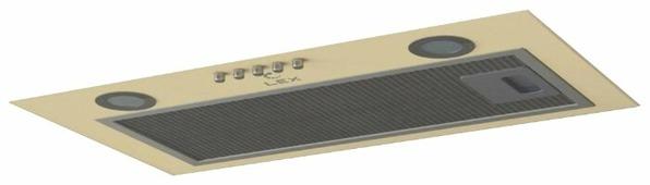 Встраиваемая вытяжка LEX GS Bloc P 600 Ivory