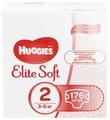 Huggies подгузники Elite Soft 2 (3-6 кг) 176 шт.