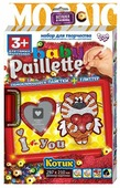 Danko Toys Аппликация из пайеток Baby Paillette Котик PG-01-04