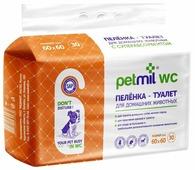 Пеленки для собак впитывающие Медмил Petmil WC 60х60 см