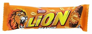 Батончик Lion Peanut, 40 г