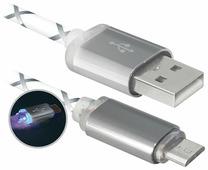 Кабель Defender USB08-03LT (красный) [87556]