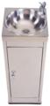 Напольный фонтанчик Fonteco ФП-КН5 (300мм) кнопочный с дверцей
