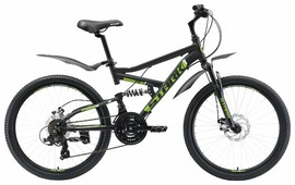 Подростковый горный (MTB) велосипед STARK Rocket 24.2 FS D (2019)