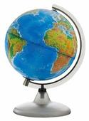 Глобус физико-политический Глобусный мир Двойная карта 420 мм (10355)
