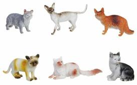 Фигурки BONDIBON Ребятам о зверятах - Домашние кошки ВВ1621
