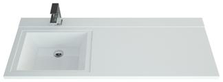 Раковина-столешница 120 см Andrea Cosmos 1200