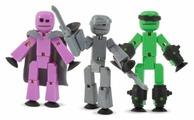 Игровой набор Zing Stikbot Off the Grid (Raptus, Shift and Regalius) TST614R