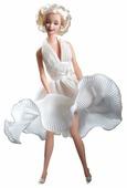 Кукла Barbie Зуд седьмого года Мэрилин Монро в белом платье, 17155