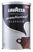 Кофе растворимый Lavazza Prontissimo Classico с молотым кофе, жестяная банка