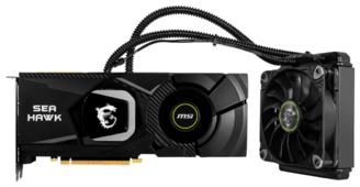 Видеокарта MSI GeForce RTX 2080 1515MHz PCI-E 3.0 8192MB 14000MHz 256 bit HDMI HDCP SEA HAWK X