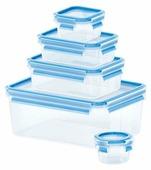 EMSA Набор из 5 контейнеров CLIP & CLOSE 508568
