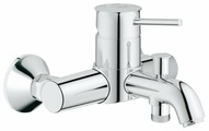 Смеситель для ванны с душем Grohe BauClassic 32865000 однорычажный хром