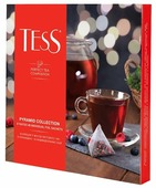 Чай Tess Pyramid collection ассорти в пирамидках подарочный набор