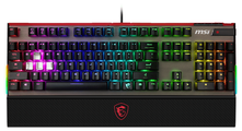 Клавиатура MSI Vigor GK-80 Black USB