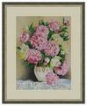 Galla Collection Набор для вышивания бисером Пионы в вазе 30 х 40 см (Л332)