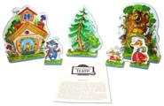 Десятое королевство Театр настольный кукольный Кот, петух и лиса (01362)